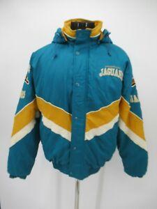 P5274 VTG Starter NFL Pro Line Jacksonville Jaguars Insulated Jacket Size M