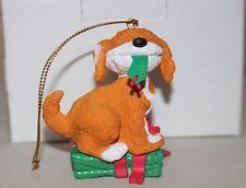 """Grolier Sesame Street """"Barkley"""" Christmas Ornament #015904 (1993)"""
