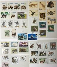 47 Postage Stamps. WILD ANIMALS. From Poland. Used
