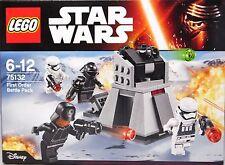 Lego Star Wars 75132 First Order Battle Pack incl.  4 Figuren  NEU NEW
