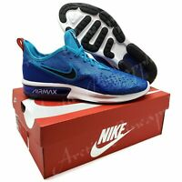 Nike Air Max Sequent 4 Men's Size 11.5 Indigo Blue & White Shoes NIB AO4485-401