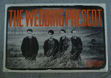 Wedding Present Album poster 1990 original Rca record store promo
