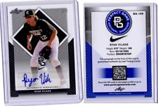 2016 Leaf Perfect Game BLACK Ryan Vilade Auto REAL #1/1 Rockies #5 prospect