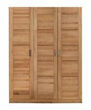 Kleiderschrank Türen Holz Kernbuche teilmassiv Natur geölt 3-türig Pia