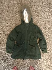Old Navy Girls Size 8 Dark Green Winter Coat