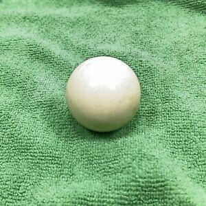 1972 MILTON BRADLEY PIVOT POOL GAME CUE BALL (WHITE) OEM REPLACEMENT BALL