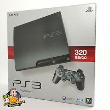Sony Playstation 3 Konsole - 320 GB/GO mit 2 Controllern | PS3 OVP - PAL