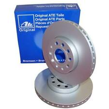2 ATE Front Brake Discs 300mm for Mercedes Sprinter VW Crafter