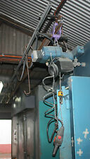 Overhead Demag Chain Hoist on Monorail Rail Pendant Control 3 Phase 35kg Capacit