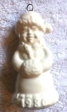 Goebel 1980 3rd Edition Annual Porcelain Ornament-West Germany
