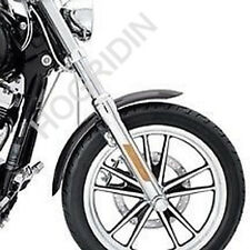 HARLEY DYNA FX CHROME FRONT END PACKAGE FORK SLIDERS LOWER LEGS KIT 46876-08 NEW