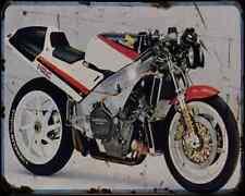 Honda Nr750 87 A4 Metal Sign Motorbike Vintage Aged