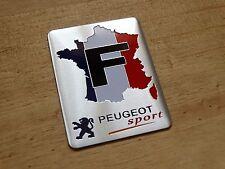 NEW PEUGEOT FR SPORT BADGE 208 508 RCZ 308 109 PARTNER 307 207 306 206 (84C)