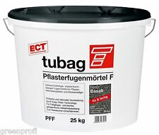 Tubag Pflasterfugenmörtel F PFF 25 KG wasserdurchlässig FIX UND FERTIG Basalt
