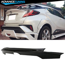Fits 17-18 Toyota CHR C-HR ARS Style Rear Trunk Spoiler Wing ABS