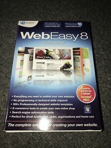 Web Easy 8 Professional - PC Software! New Open Box! Quick Dispatch!