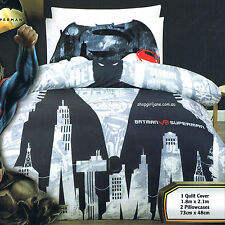 Batman v. Superman - Demon - Double/US Full Bed Quilt Doona Duvet Cover Set