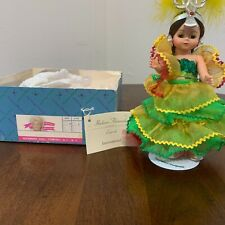 Madame Alexander  LaRumba doll, excellent condition, brown hair and eyes.