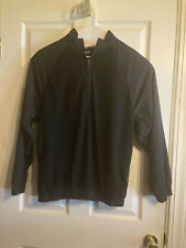 Ping Collection Golf Mens Black Fleece Pullover Half Zip Size M