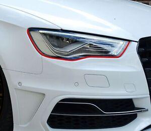 Devil Eye® Scheinwerfer Folie Stripe passend für A3 S3 RS3 Aufkleber Tönung