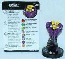 060 Mongul  -Super Rare- -NM-Justice League Unlimited -DC Heroclix-