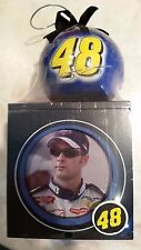 Jimmy Johnson Photo Box and Christmas Ornament 2004 #48 Lowes Racing
