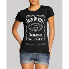 Tee shirt Jack Daniel's Neuf Officiel Femme M Officiel Hypster Hipster