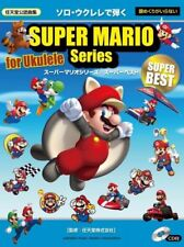 Super Mario Series Super Best Ukulele Solo Official Sheet Music Book w/CD