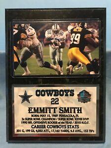 EMMITT SMITH  DALLAS COWBOYS  SUBLIMATION PHOTO PLAQUE