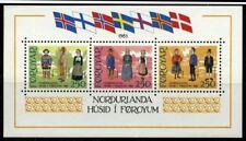 Faroe Islands 1983 sheet culture house MNH Mi block 1 CV $12.10 180124028