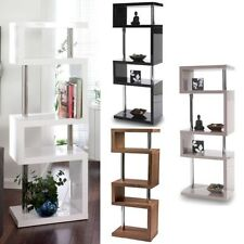 MDF/Chipboard Bookcases Furniture 5 Shelves