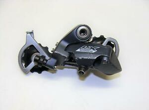 ~ Nice Used Shimano Deore LX RD-M570 9 Speed Long Cage Rear Derailleur ~