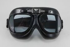 Emgo Roadhawk Goggles Like Italian Leather Riding Cruising Piolet Helmet Harley