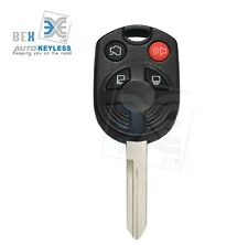 Remote Key 4 Button 80 Bit Head Entry Transmitter Uncut For Ford 2009-2015 Flex