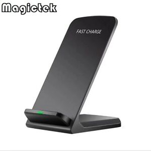 Qi Wireless Fast Charger Charging Pad Stand Dock Samsung Galaxy S9+ iPhone XS 8