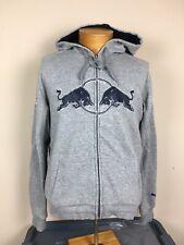 Red Bull Racing Team Puma Jacket Gray Blue Full Zip Men's Size Small