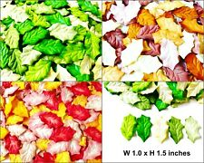 Leaves Christmas Mulberry Paper Embellishment Artificial Craft Scrapbooking