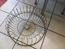 Beautiful Metal Plate  Rack- Round Holds 32 Plates