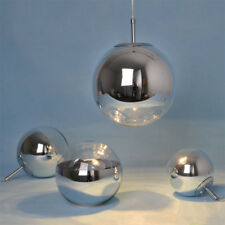 Tom Dixon Chrome Mirror Glass ball pendant lamp Ceiling Light 15/20/25/30/40cm