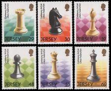 Jersey 2004 - Mi-Nr. 1111-1116 ** - MNH - Schach / Chess