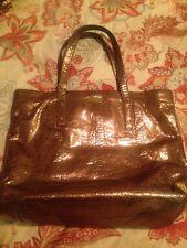 Kate Spade Bon Shopper Foiled Again Bronze Tote. Excellent condition. Impeccable