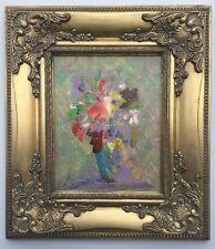 Stephen Tandori Floral Work Acrylic Painting