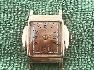 Vintage Art Deco Elgin Wrist Watch