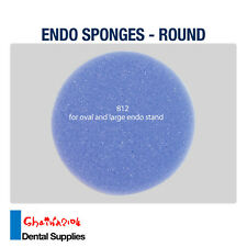 Dental Endo Round Sponges Files holders Replacement foam Large 250pcs