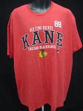 New Chicago Blackhawks #88 Patrick Kane Men Size L Large Red Shirt MSRP $26