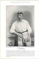 1895 Cricket DENTON, Yorkshire : BALDWIN, (C), Surrey
