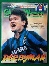 GUERIN SPORTIVO 1988 n 50 , Poster BOLOGNA , FILM DEL CAMPIONATO , COPPE EUROPEE