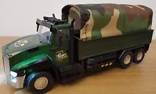 MILITARY TRUCK ARMY WAR VEHICLE Radio Remote Control Car  FAST SPEED 25.5CM