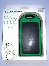 YD-T011 5000mAh Water-proof Solar Charger Mobile Power Bank