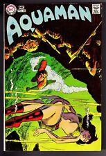 """AQUAMAN #48 (1969) DC COMICS """"A KINGDOM TO REBUILD"""" F/VF 7.0"""